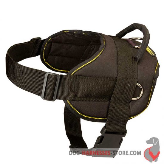 Pulling Nylon Multi-Purpose Dog Harness - Patrol Dog Harness