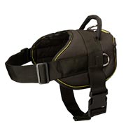 nylon dog harness with handle