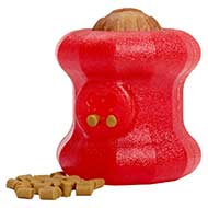 'Fire Plug' Dog Toy for Chewing / Big Treat Holder