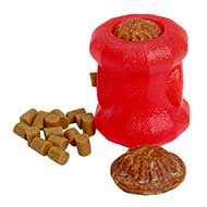 'Fire Plug' Dog Toy for Chewing / Small Treat Holder