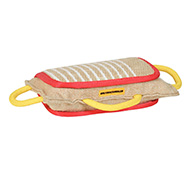 Wide Jute Bite Pad with Three Handles