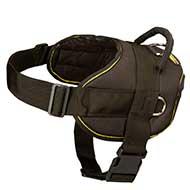 Nylon dog harness for pulling H6 dog harness shop, leather, nylon, pulling, walking, training harnesses