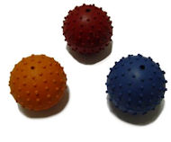 Rubber Squeaky Ball Dog Toy 2 3/8''(6cm)-all breeds Dog Toys