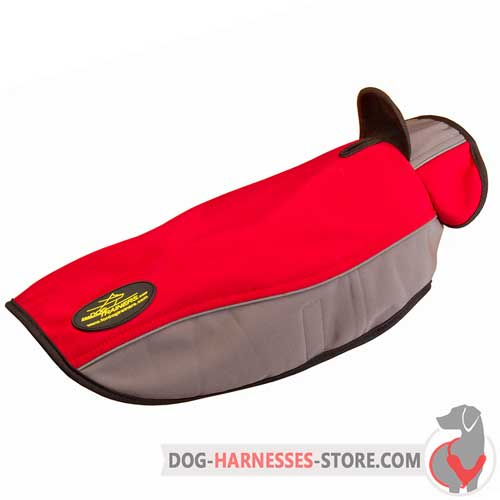 Warming Nylon Dog Coat for Cold Season