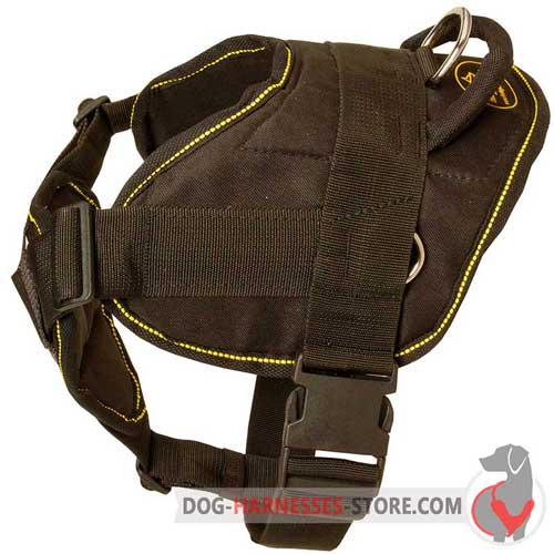 Nylon Dog harness Adjustable with Chest Plate