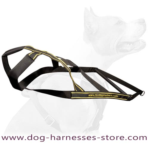 Professional Pulling Nylon Harness For Different Dog  Breeds