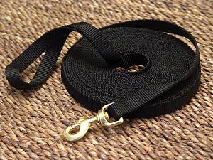 Nylon dog leash for training and tracking for dog training or for dog owners