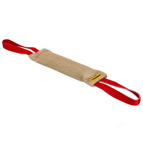 Training Dog Bite Tug Jute with 2 Handles