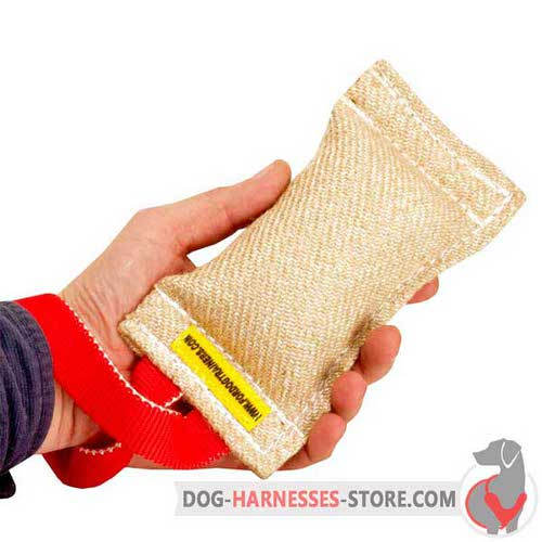 Jute Dog Bite Tug Comfortable to Hold