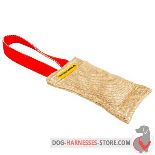 Jute Puppy Bite Tug for Dog Training