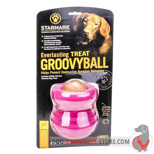 Big Chewing Dog Toy Pink in Original Packing
