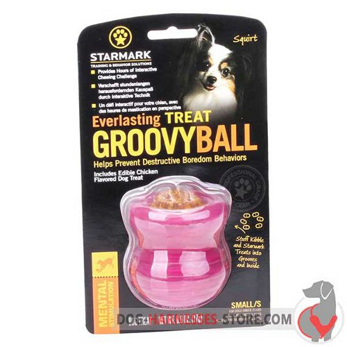 Small Chewing Dog Toy Pink in Original Packing