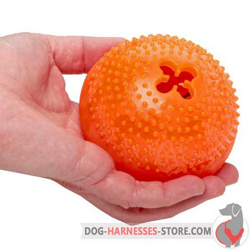 Big Chewing Dog Toy Semisphere for Large Breeds