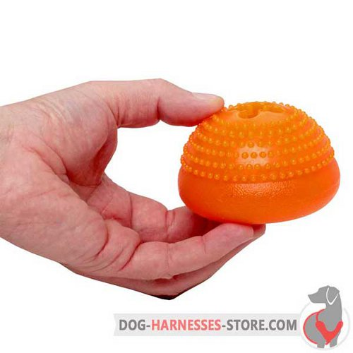 Medium Chewing Dog Toy Semisphere