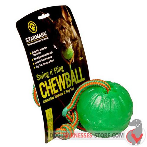 Rubber Dispenser Dog Ball in Original Packing