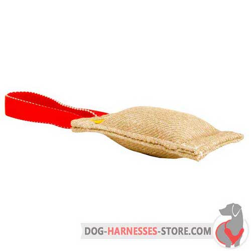 Jute Dog Bite Tug for Puppies and Small Breeds