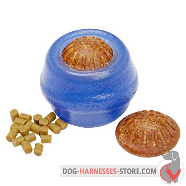 Treat Dispensing Dog Ball for Middle-Sized Breeds