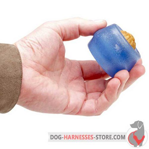Treat Dispensing Dog Ball for Small Breeds and puppies