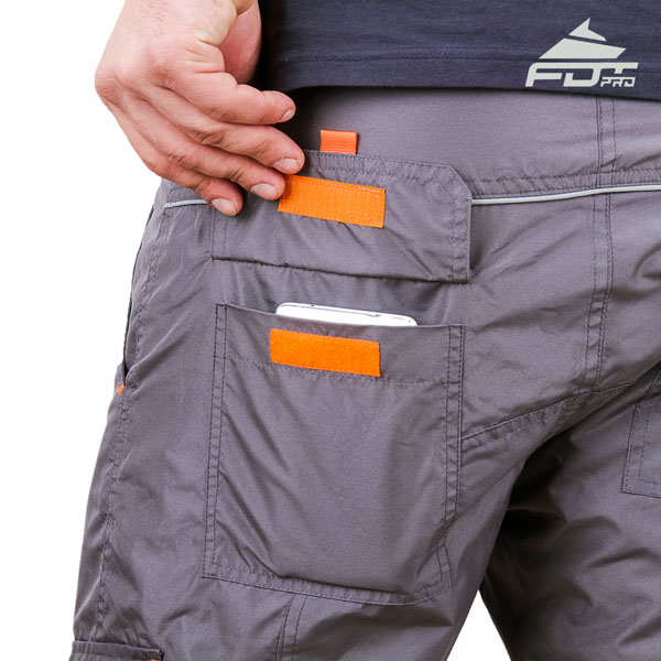 Convenient Design Pro Pants with Durable Back Pockets for Dog Trainers