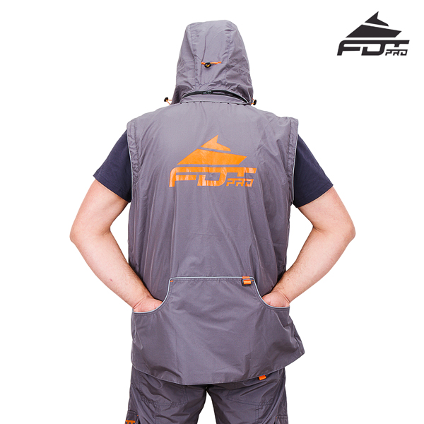 Durable Dog Trainer Suit Grey Color from FDT Pro Wear