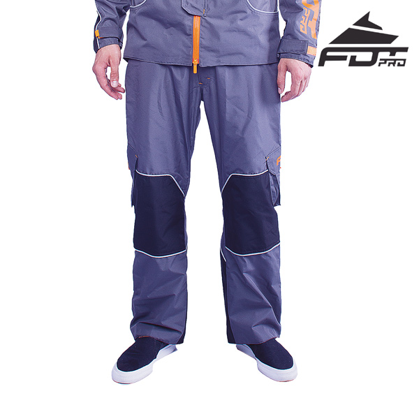 Professional Pants of Grey Color for All Weather Use