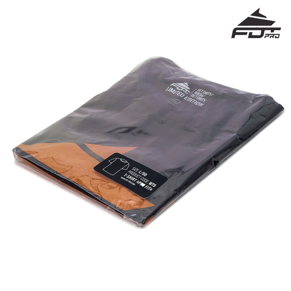 Packed Professional Design T-shirt Dark Grey Color