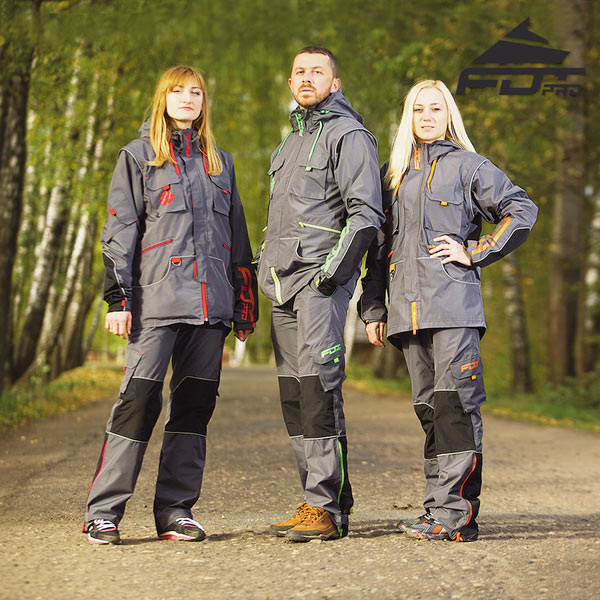 Dog Training Suit for Any Weather Use
