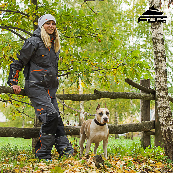 Unisex Design Pants with Convenient Side Pockets for Active Dog Training