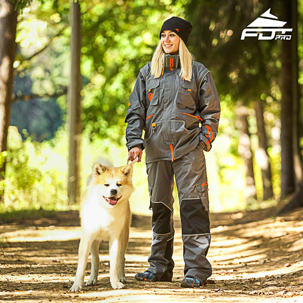 Men / Women Design Dog Tracking Jacket of Fine Quality Materials