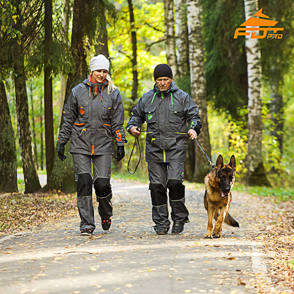 Any Weather Conditions Top Rate Dog Tracking Suit for Men and Women
