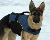 German Shepherd coat-Nylon Dog Harness with handle for Shepherd